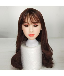 A Single Sex Doll Head Realistic Adult Vagina Oral Sex Anal Real Head Asian Japanese Doll Lifelike Sex Toys for Men Masturbation|Sex Dolls|   - 1SexFun
