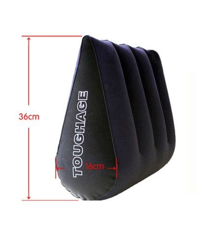 PVC Flocking Cloth Inflatable Adult Sex Pillow Couple Sharing Strapon Furniture Couples Games Different Posture Auxiliary Tools|Sex Furniture|   - 1SexFun