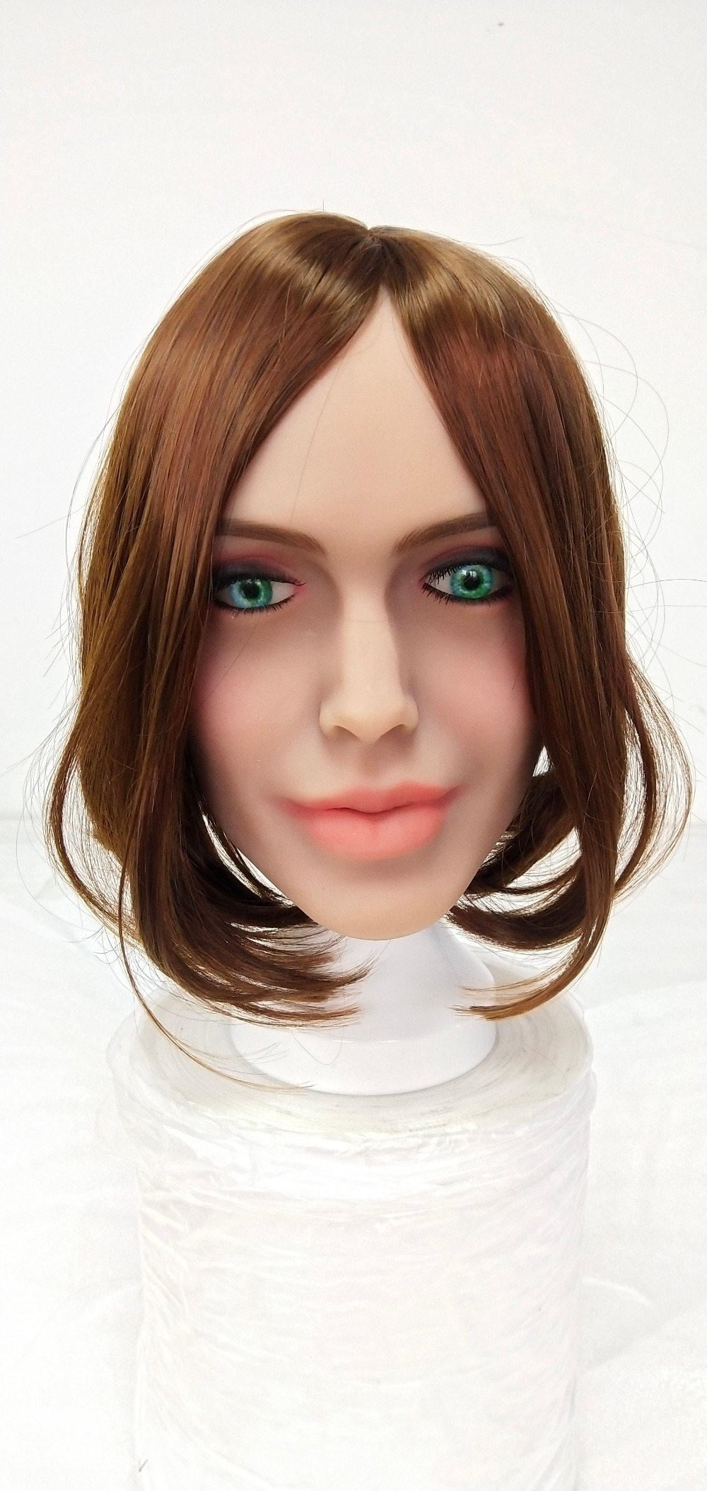 Sex Dolls,Beauty & Health, Cheap Sex Dolls,High Quality Beauty & Health,Sex Dolls, ,  High Quality Sex Dolls, Sexy Sex Dolls, Sweet Sex Dolls,10*14cm Iron Doll Head Stand Holder for Tpe Doll Sex Doll White doll head support holder Sex Dolls    - 1SexFun